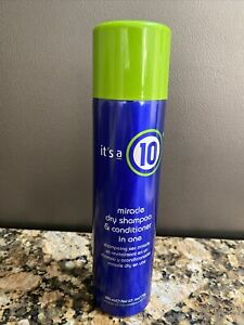 NEW, FACTORY DIRECT It's a 10 Miracle Dry Shampoo & Conditioner in One 6 Oz.