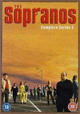 Sopranos - Series 3 Complete James Gandolfini, Lorraine Bracco New Region 2 DVD