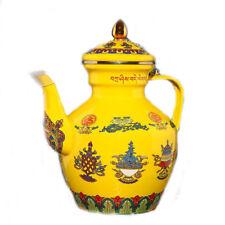 Enameled Steel Tibetan Buddhist Ayurveda Coffee pot Teapot Kettle,induction,gas