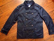 *NEW Ralph Lauren Polo Men Navy Lightweight Jacket Windbreaker Peacoat Jacket L