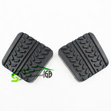 2pcs Brake & Clutch Pedal Pads For Mazda MX-3/6 RX-7 323 626 929 B-Series MPV