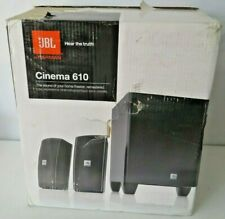 JBL Cinema Sound 610 5.1 Home Theater Speaker System (Black)