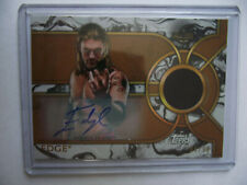 2018 Topps WWE Legends - Edge Autograph Relic Card 05/99