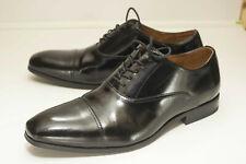 Florsheim 9.5 D Black Oxford Dress Shoes Cap Toe