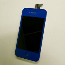 Dark Blue LCD Display Touch Screen Digitizer Assembly Replacement for iPhone 4