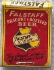 Falstaff and Circle H Inn Matchbook Cover