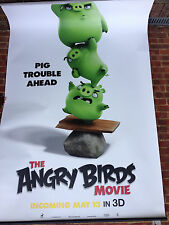 Cinema Banner: ANGRY BIRDS MOVIE (Pigs) Jason Sudeikis Josh Gad Danny McBride