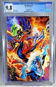 The Marvels 1 CGC 9.8 IG Comic Store Edition Virgin Massafera Cover LTD 700