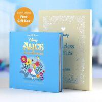 Personalised Children Book Disney Alice In Wonderland Book Hardback Gift Boxed
