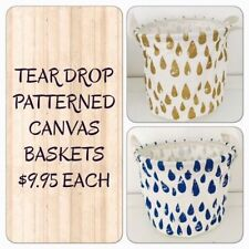 Canvas Home Storage Bins & Baskets