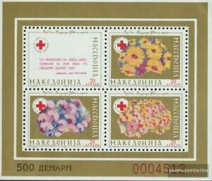 makedonien Z miniature sheet 5A (complete issue) Zwangszuschlagsmarken unmounted