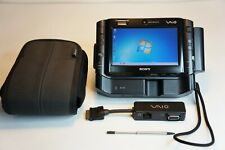 Sony VAIO VGN-UX390N Black + Dock Station + Case + Port Adapter (TOP)