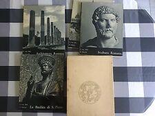 Von Matt - ROMA - La Basilica San Pietro, Scultura romana - Stringa - Prima 1958