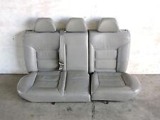 Mk4 Vw Gti Jetta Gray Leather Rear Bench Seat Seats Head Rests Set Factory -617