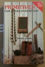 Antique American Primitives Value Guide Book