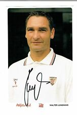 Walter Junghans ak athletico Bilbao!!! con firma original 13x18