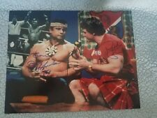 Piper's Pit Dual Signed 11x14 Roddy Piper Jimmy Snuka w/Proof