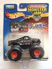 Hot Wheels Monster Jam Truck POWER FORWARD KARL MALONE Black Die-cast 1/64