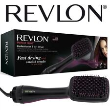 Revlon 2 in 1 Womens Ionising Hot Air Paddle Brush Hair Dryer Styler  Dry Style