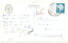 NEDERLAND S.M.N. 1950 AK FIRMAPERFORATION V.N.  - VRACHT BUREAU -