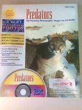 "Corel Vintage Professional Photos CD-ROM ""PREDATORS "" series 42000"