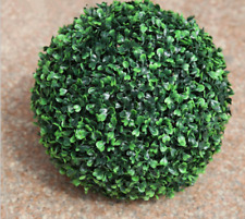 1 pc ARTIFICIAL BOXWOOD TOPIARY FAUX BUXUS BALLS HOUSE HOME PARTY OFFICE DECOR