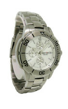 Sector 3253980145 Men's Round Silver Tone Chronograph Date Analog Watch