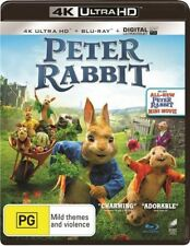 Peter Rabbit (4K Ultra HD + Blu-ray + Digital UV, 2018, 2-Disc Set) New & Sealed