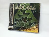 OVER KILL THE GRINDING WHEEL CD + DVD Bonus Track Limited Edition from Japan