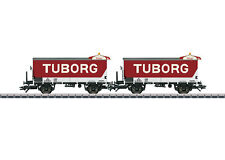 Märklin 48777 jeu de wagon bière Tuborg du DSB 2 pièces # à #