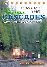 THROUGH THE OREGON CASCADES PART 1 NEW DVD VIDEO 7IDEA PRODUCTIONS