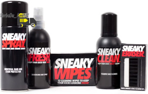 Sneaky Complete Shoe Care   Shoe Trainer and Suede Protector Spray Cleaning Kit