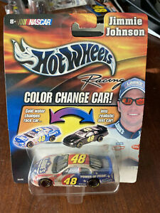 2003 Jimmie Johnson Lowes Power of Pride car 1:64 Hot Wheels Color Change Car!!