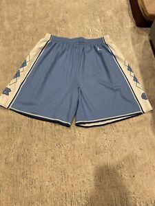 Jordan Brand North Carolina Tar Heels UNC CarolinaBlue Basketball Shorts Size XL