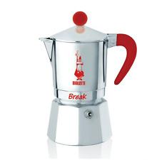 BIALETTI MOKA BREAK RED 3 TAZZE ESPRESSO CAFFE' NUOVA OFFERTA PREZZO SPECIALE