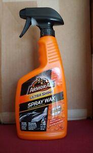 Armor All Car Wax Spray Bottle ULTRA SHINE 16 FL OZ