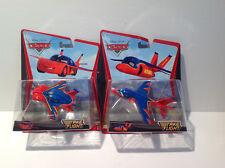 Disney Pixar Cars  Take Flight set of 2- Lightning McQueen Hawk & Falcon Hawk 1