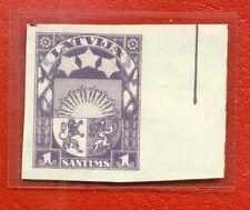 LATVIA LETTLAND PROOF  1 SANTIMS WMK REVERSE SWASTIKA RARE 4212