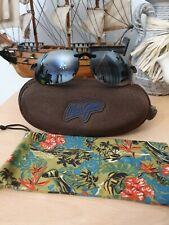 Maui Jim Sunglasses Hookipa H407-02 Gloss Black/Grey Polarized