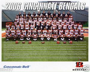 2006 CINCINNATI BENGALS NFL FOOTBALL TEAM 8X10 PHOTO PICTURE