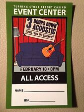 All Access Pass for 3 Doors Down Tour- 2014