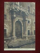 FERRARA-Palazzo Sacrati-La Porta-viag,anni 20#9849