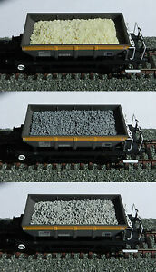 RESIN WAGON LOAD (Half Full) FOR HELJAN OO GAUGE DOGFISH WAGON