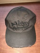 Jack Daniels & Zack Brown Band Together on Tour Distressed Cap Hat NEW