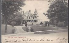 1905 Post Card Merriam House Newton New Jersey