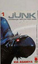 JUNK CRONACHE DELL'ULTIMO EROE dal 1 al 4 del 2006 di kia asamiya da EDICOLA
