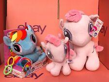 Playskool Baby My Little Pony Newborn Bundle Activity Toy & 2 x Pinkie Pie Plush