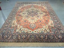 Antique Serapi rug 8.8x12 lovely by Karastan carpet beautiful gently used 744