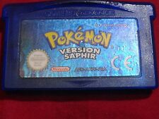 POKEMON VERSION SAPHIR GAME BOY ADVANCE NINTENDO GBA