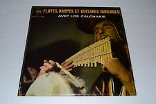 Flutes, Harpes Et Guitares Indiennes~Avec Los Calchakis~Arion~FAST SHIPPING